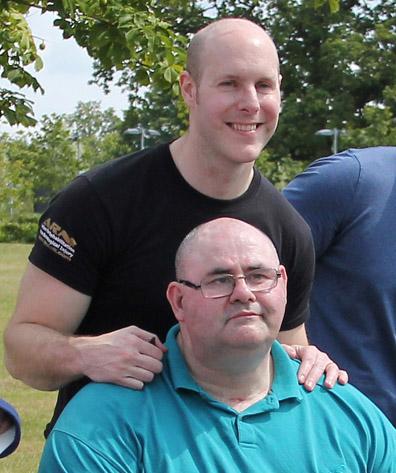 steve and tom 2 - Testimonials - Stroke Exercise Training