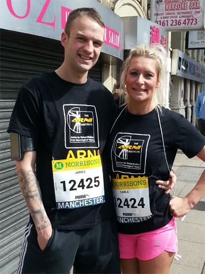 tmp finished race 1435295852 - Carla Clitheroe - Great Manchester Run - Stroke Exercise Training