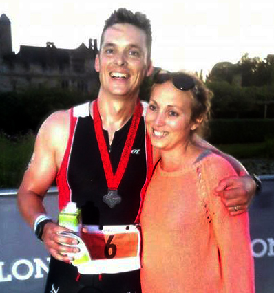 tmp paul and kirsty1424928890 - Paul Baker - Iron Man Triathlon - Stroke Exercise Training