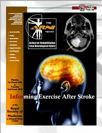 ARNI 2010 REHAB PHYSIO STROKE EXERCISE TRAINING - 5-day Accreditation for Therapists and Instructors - Stroke Exercise Training