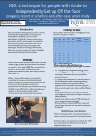 igo poster - Clinical Research into ARNI Approach - Stroke Exercise Training