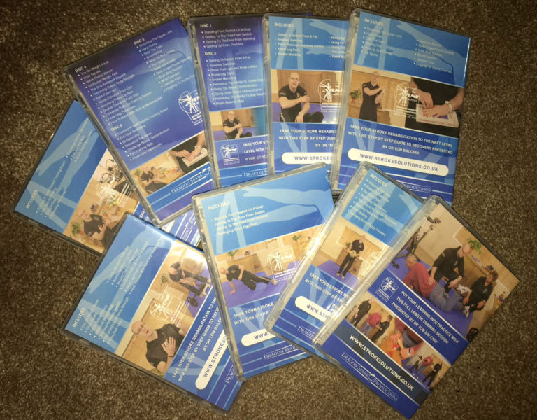 dvds back 768x600 - Successful Stroke Survivor DVD - Stroke Exercise Training