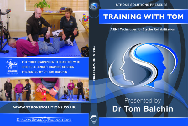 TRAINING WITH TOM FULL CASE 1 600x403 - Training with Tom DVD - Stroke Exercise Training