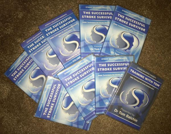 dvds front 600x472 - The Successful Stroke Survivor DVDs (Full set) - Stroke Exercise Training