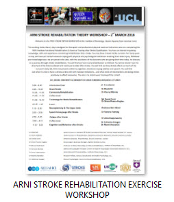 ARNI STROKE REHABILITATION EXERCISE WORKSHOP 2ND MARCH 2018 - Cohort 1 - Stroke Exercise Training