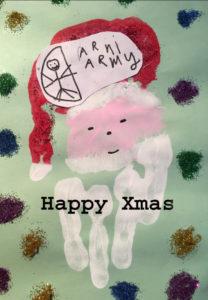 ARNI CHRISTMAS CARD 208x300 - Help Stroke Survivors: ARNI Christmas Cards (100% to Charity!) - Stroke Exercise Training