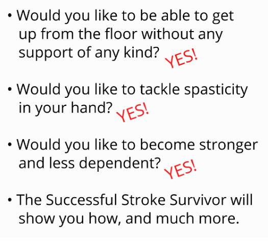 2019 10 16 15 12 16 - New Ebook! Bestseller Stroke Survivor Manual - Stroke Exercise Training