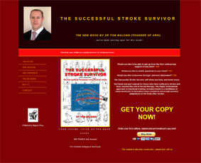 ssswebsite - New Ebook! Bestseller Stroke Survivor Manual - Stroke Exercise Training