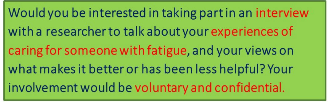fatigue study 2 1 - Shedding Light on Fatigue: Your Experiences and Views - Stroke Exercise Training
