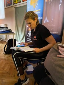 Gabis student 2 225x300 - WHY USE A TRAINING DIARY IN REHAB? - Stroke Exercise Training - online courses for therapists
