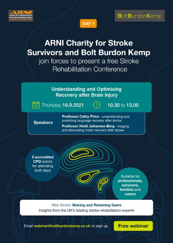ARNI BBK Stroke Workshop 731x1024 - UNDERSTAND, MAKE & RETAIN GAINS AFTER STROKE - Stroke Exercise Training - online courses for therapists